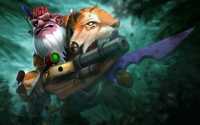 Picture weapons, art, skin, Dota 2, Sniper, Sharpe To Kardel, Luches, The Great Jaeger