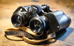 Picture macro, black, optics, binoculars