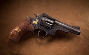 Wallpaper Wesson, Magnum revolver, Dan, D11