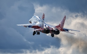 Wallpaper the plane, MiG-29, weapons