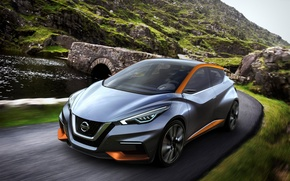 Picture Concept, the concept, Nissan, Nissan, hatchback, city, 2015, Sway