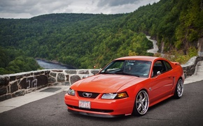 Picture view, mustang, Mustang, red, Cobra, ford, Ford, muscle, tuning, cobra, power, america, GTcustom, New Edge