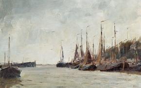 Picture picture, seascape, Edward Seago, Privatevalue Boats