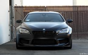 Picture BMW, Frozen, Black, Gran Coupe, Matt