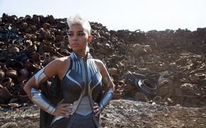 Picture fiction, frame, hairstyle, blonde, costume, dump, Storm, Ororo Munroe, X-Men: Apocalypse, X-Men: Apocalypse, Alexandra Shipp, …
