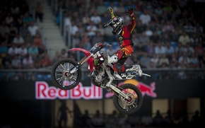 Wallpaper Moto, red bull, x-fighters hd wallpapers, nate adams, x games