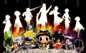 Picture girl, bird, anime, protein, art, monkey, nipples, sake, guys, fon, Katekyo Hitman Reborn, Teacher-mafia Reborn, …