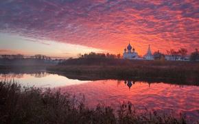 Picture autumn, morning, Russia, Suzdal, Vladimir oblast