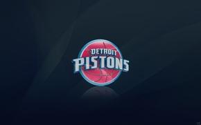 Picture Sport, Basketball, Logo, NBA, Detroit Pistons, Detroit