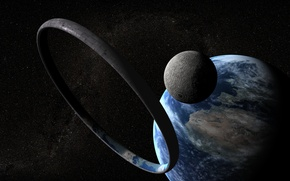 Picture earth, space, cosmos