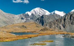 Picture Mountains, The Altai Mountains, Valley of seven lakes