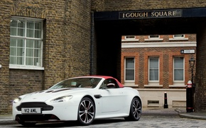 Picture car, machine, Aston Martin, aston martin, vantage v12