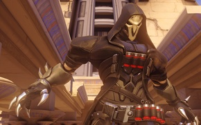 Picture the game, blizzard, Reaper, Overwatch