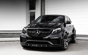 Wallpaper Mercedes-Benz, Mercedes, Coupe, Ball Wed, C292, GLE-Class