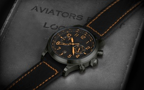 Picture style, leather, quality, wristwatch, watch titanium