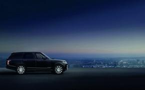 Picture car, SUV, Range Rover Sentinel