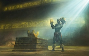 Picture Mortal Kombat, warrior, Mortal Kombat X, Kotal Kahn, MK X