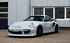 Picture 911, Porsche, gt2, wheels, black
