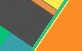 Picture yellow, grey, blue, geometry, design, color, material