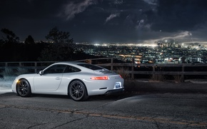 Picture night, the city, carrera, porsche 911, dejan sokolovski photography
