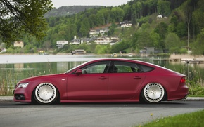 Picture tuning, stance, Audi A7, messer