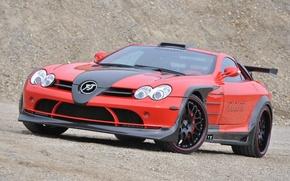 Picture McLaren, SLR, Mercedes, Benz, Hamann, Volcano