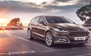 Picture Ford, Ford, universal, Mondeo, Mondeo, 2015, Turnier, Vignale