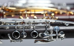 Picture wind, clarinet, clarinet, backun