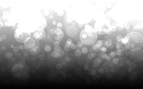 Wallpaper patterns, light, 1920x1200, point, abstraction, b/W, circles, bokeh, abstraction, b&w, dots, light, circles, patterns, bokeh