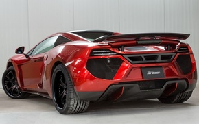 Picture auto, tuning, supercar, Spyder, back, McLaren MP4-12C, FAB Design