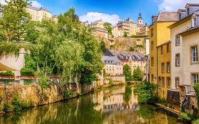 Picture river, home, Luxembourg, the Duchy of, Sauer