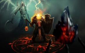 Picture diablo 3, crusader, Malthael, reaper of souls
