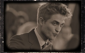 Picture lips, actor, Male, Robert Pattinson