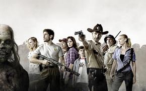Wallpaper zombies, the walking dead, dead walking