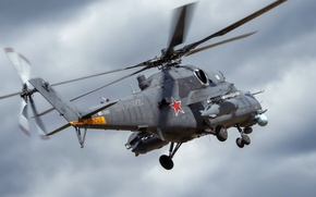 Wallpaper weapons, Mi-35, helicopter