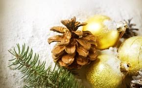 Wallpaper holiday, new year, new year, bump, Christmas balls