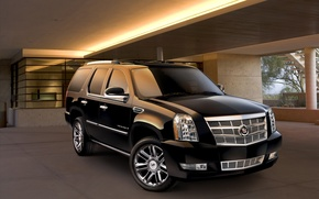 Wallpaper Cadillac, auto, house, cadillac, machine