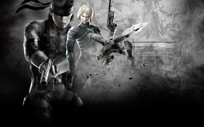 Picture wallpaper, Solid Snake, Raiden, Metal Gear Solid 2: Sons of Liberty, Metal Gear RAY
