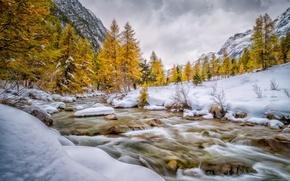 Picture Engadin, Switzerland, Val Bever