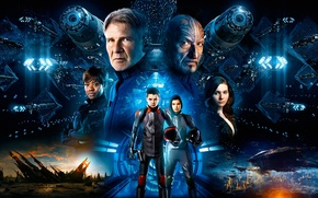 Picture Fantasy, Movie, Sci-Fi, Ender's Game, Science Fiction