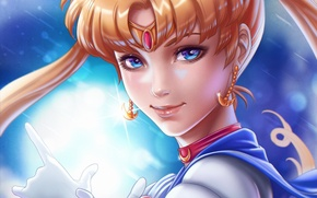 Picture look, anime, Sailor Moon, Sailor Moon