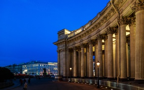 Picture The city, St. Petersburg, Kazan Cathedral