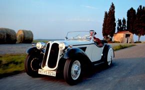 Picture retro, BMW, convertible, 315