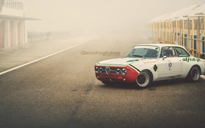 "Wallpaper Alfa Romeo, retro, 1970, oldschool, Giulia, GTAm, By Giannis ""KING"" Kokkas, 1750"