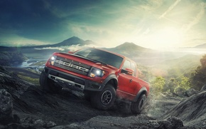 Picture Ford, Raptor, pickup, F-150, Feel Factory, F-Series