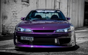 Picture car, tuning, S15, Nissan, tuning, the front, Spec-R, Nissan Silvia