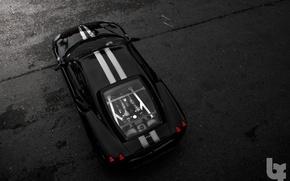 Picture Parking, Ferrari, black background, f430 scuderia
