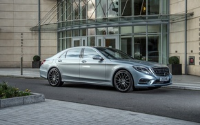 Picture Mercedes-Benz, Mercedes, AMG, AMG, UK-spec, Sports Package, Benz, 2014, W222, Plug-In Hybrid, S 500