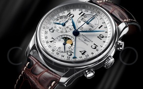 Wallpaper Longines, Swiss watch, Watch