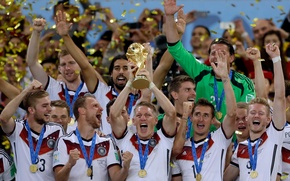 Picture football, victory, the world Cup, Champions, Germany